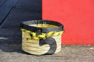 Bolina Sail - Porta oggetti rotondo in vela laminato carbonio